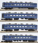 Rokuhan 7297704 - Z Scale JNR 14K Coach Set Blue (4)